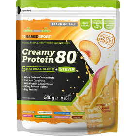 NAMEDSPORT Creamy Protein 80 Drink 500g Mango Peach